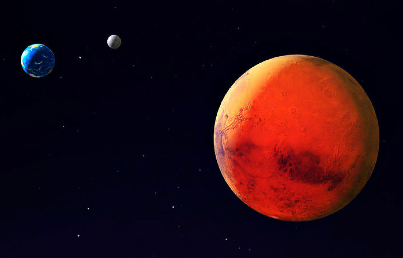 5 Características del Planeta Marte