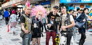 Características de los Punks